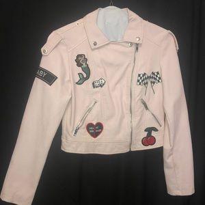 Girls Pink Forever 21 Jacket
